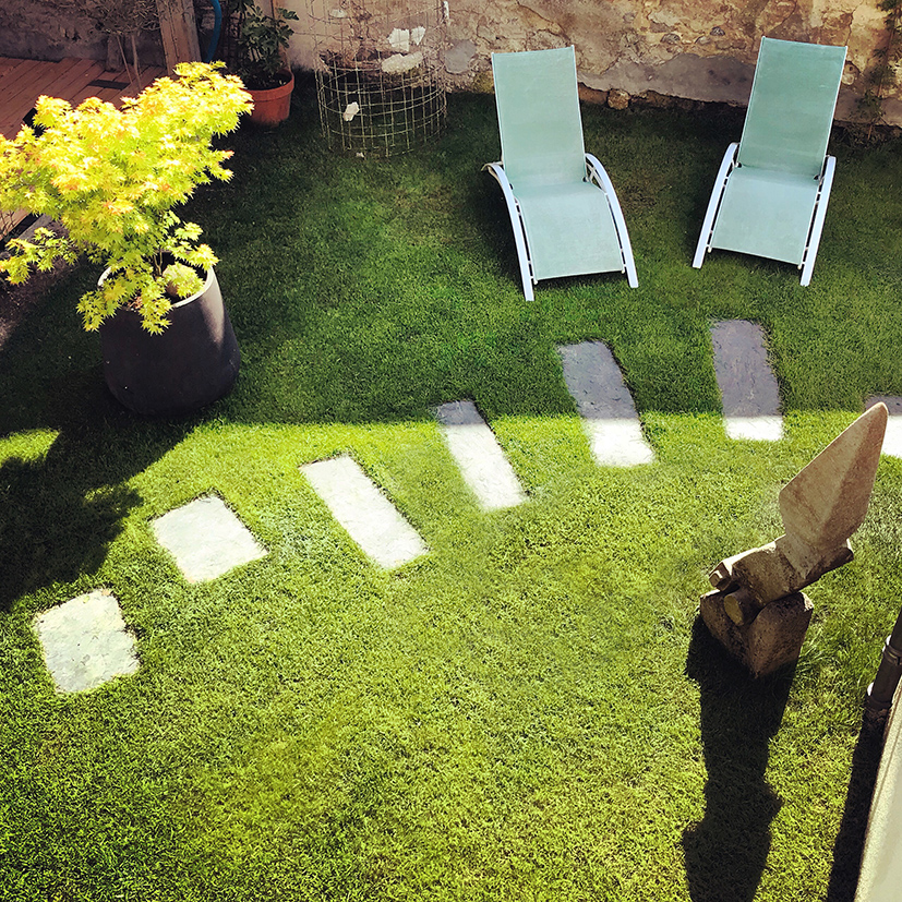 Chemin des Ormeaux / Jardin