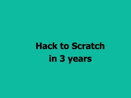 The Par Train Podcast Episode #63: Hack to Scratch in 3 years