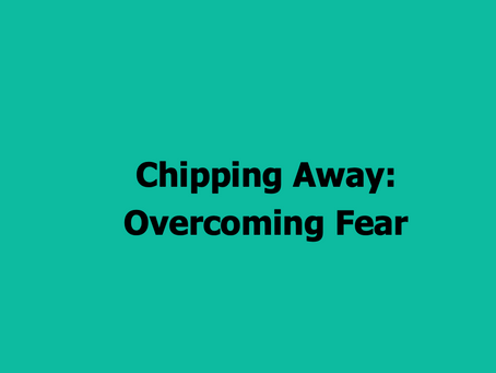 The Par Train Podcast Episode #58: Chipping Away – Overcoming Fear