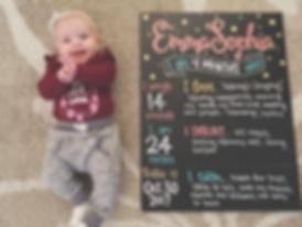 GleeSigns | Milestone Chalkboard