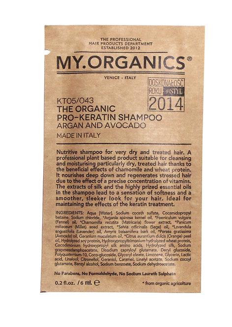 Sachet The Organic Pro - Keratin Shampoo