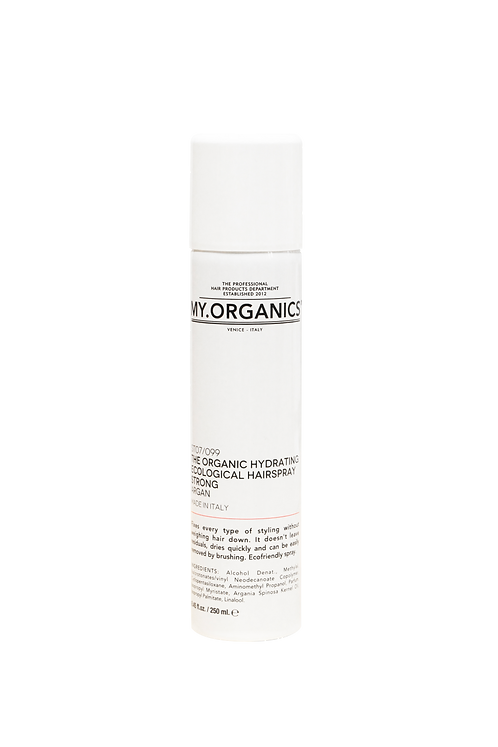 The Organic Hydrating Ecological Hair Spray Strong