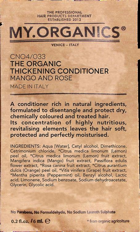 Sachet The Organic Thickening Conditioner