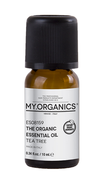 The Organic Essential Oil Tea Tree.