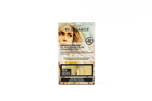 9.0 Rubio Extra Claro / Extra Light Blonde