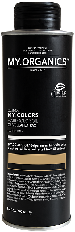 MY.COLORS Rubio Cobrizo Miel / Golden Coppery Honey