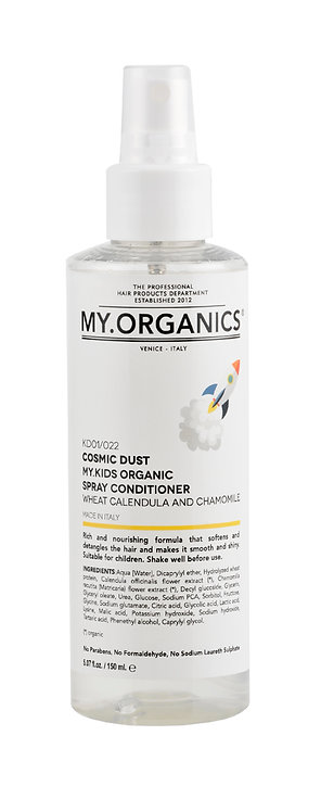 Cosmic Dust. The Organic Spray Conditioner