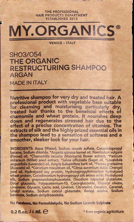Sachet The Organic Restructuring Shampoo