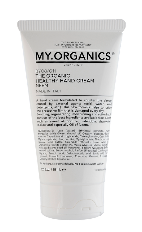 The Organic Healthy Hands Cream