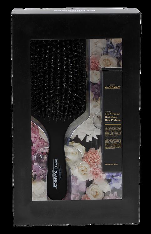 Gift Box Brush Hair and Perfume