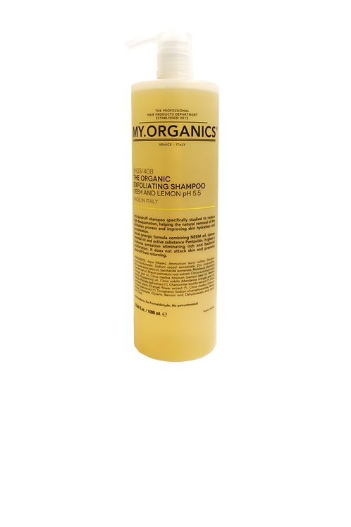 The Organic Exfoliating Shampoo