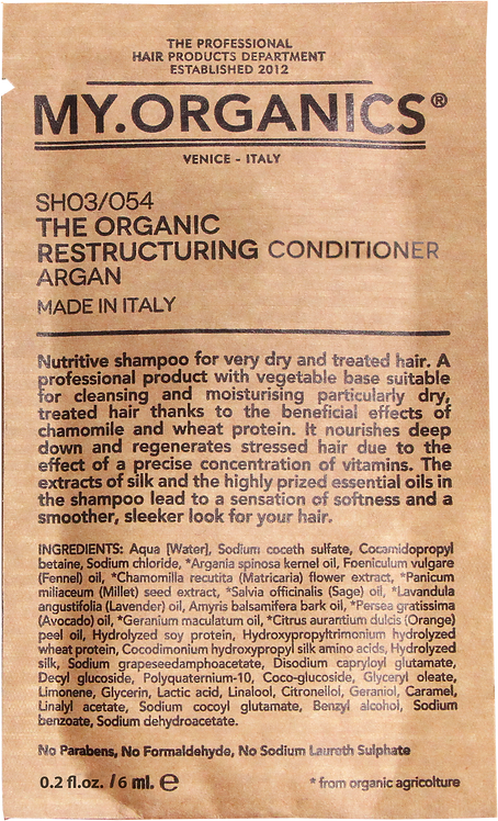 Sachet The Organic Restructuring Conditioner