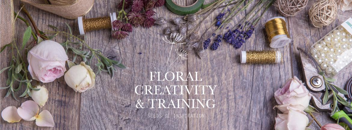 Floral Creativity & Training Brand Identity