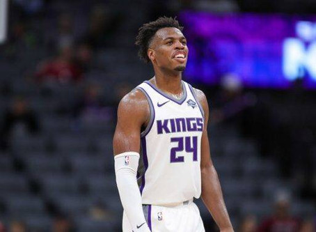 NBA fines Hield $25k for kicking ball into stands