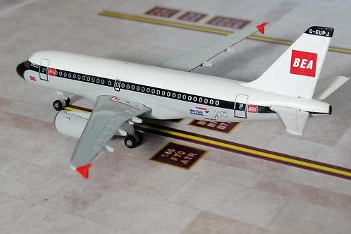 """HERPA BRITISH AIRWAYS A319 """"BEA"""" G-EUPJ  1/500"""