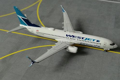"NG MODELS WESTJET  C-GAWS ""100TH BOEING 737NG"" 1/400"