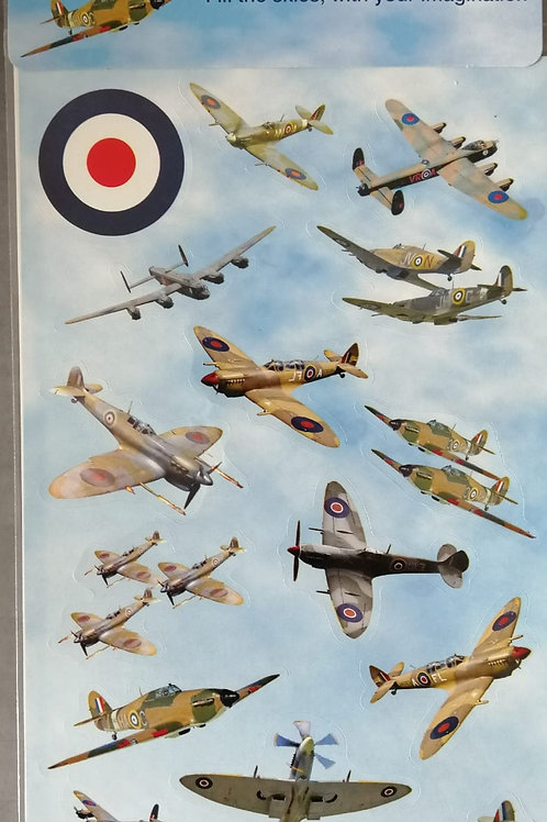 ROYAL AIR FORCE WWII STICKER SET
