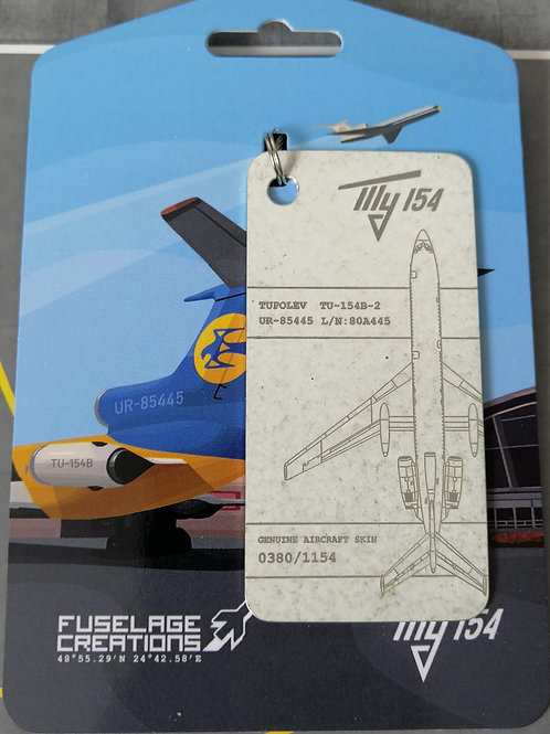 FUSELAGE CREATIONS TUPOLVE TU-154 WHITE  LIMITED EDITION