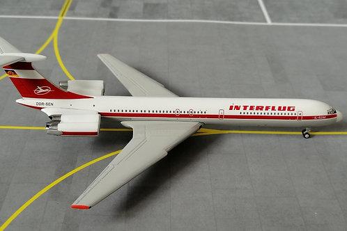 GEMINI JETS INTERFLUG IL-62M DDR-SEN 1/400