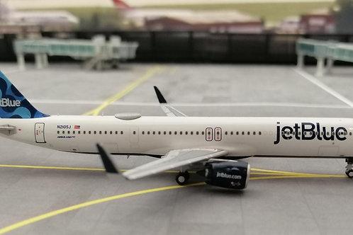 WINGLUX MODELS JETBLUE A321NEO N2105J 1/400
