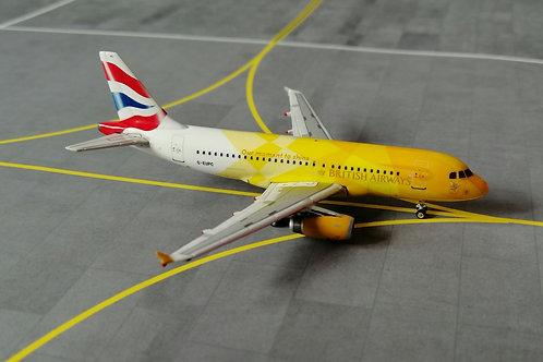 "PHOENIX BRITISH AIRWAYS A319 G-EUPC ""OLYMPIC FLAME"" 1/400"