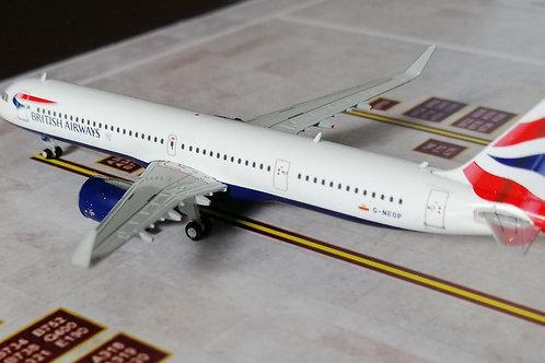GEMINI JETS BRITISH AIRWAYS A321NEW G-NEOP  1/400