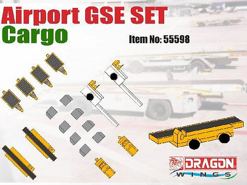 """DRAGON WINGS AIRPORT ACCESSORIES /GSE """"SET3 - CARGO""""  1/400"""