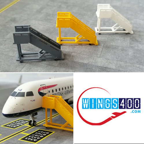 WINGS400 PASSENGER STAIRS / GSE  (X3) REGIONAL AIRCRAFT 1/200
