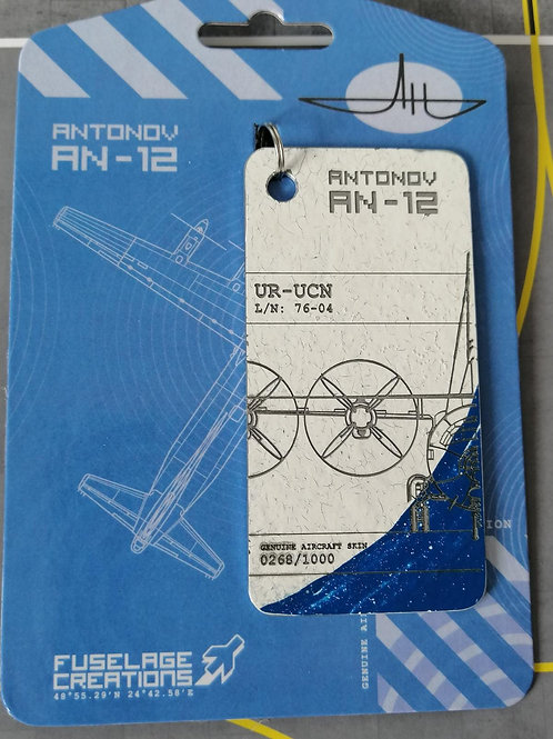 FUSELAGE CREATIONS ANTONOV AN-12 WHITE/BLUE LIMITED EDITION TAGS