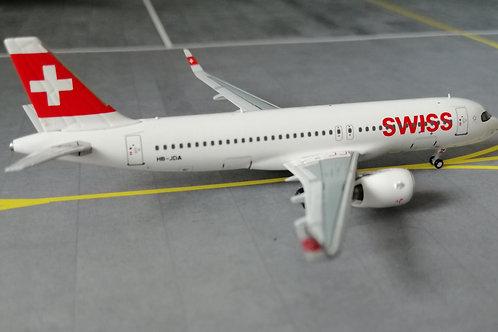 PANDA MODELS SWISS AIRBUS A320 NEO HB-JDA  1/400