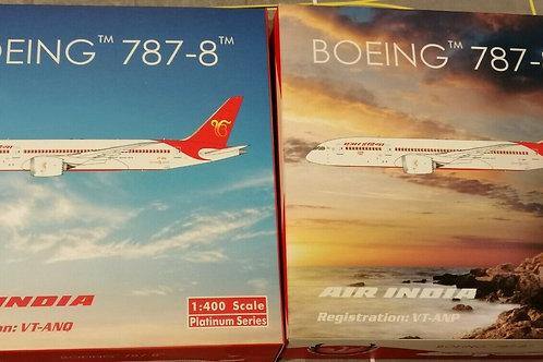 PHOENIX AIR INDIA B787-8 TWINSET VT-ANP /VT-ANQ  1/400
