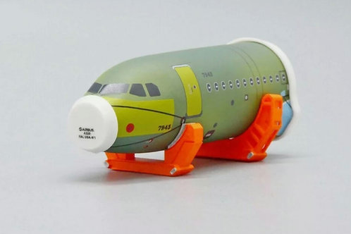 JCWINGS JCGSESETC 1/200 AIRPORT ACCESSORIES AIRBUS A320 FRONT FUSELAGE SECTIONS