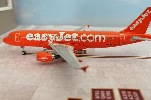 "AEROCLASSICS  EASYJET A320 G-EUZI ""ORANGE""  1/400"