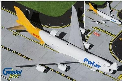 GEMINI JETS POLAR AIR CARGO B747-8F  1/400