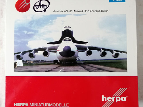 HERPA ANTONOV AN-225 MRIYA WITH BURAN   1/500