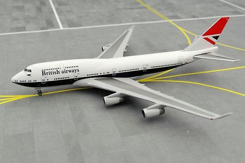 HERPA BRITISH AIRWAYS B747-400 G-CIVB NEGUS 1/500