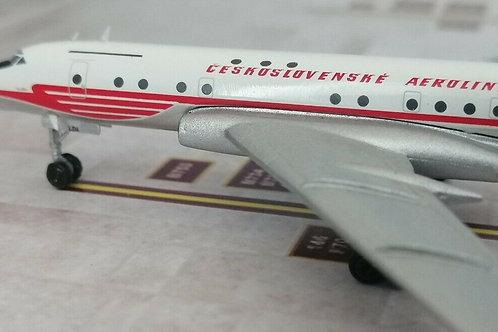 RETRO MODELS CSA CESKOSLOVENSKE AEROLNIE TU-104 OK-LDA 1/400