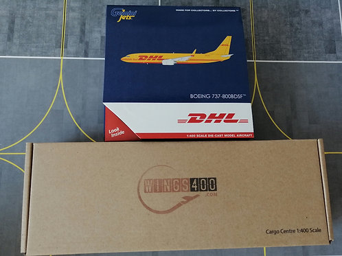 CARGO SET BY WINGS400 /GEMINI JETS CARGO CENTRE SET-2 1/400