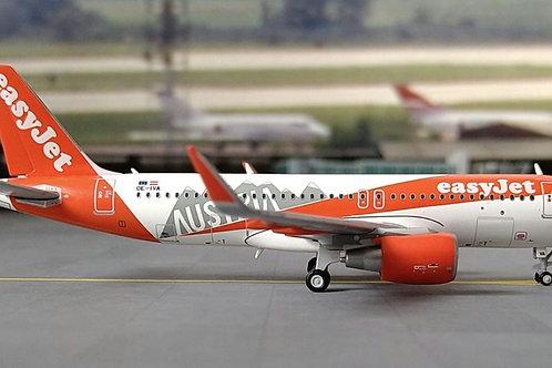 """JC WINGS EASYJET A320 OE-IVA """"AUSTRIA"""" 1/400"""""""