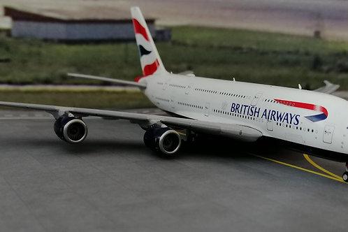 GEMINI JETS BRITISH AIRWAYS  A380 G-XLED  1/400