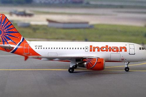 AEROCLASSICS INDIAN AIRBUS A319 VT-SCD 1/400