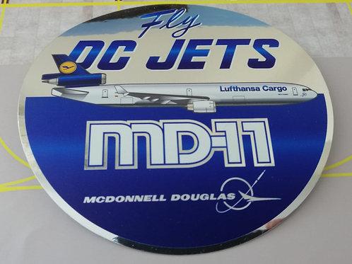 LUFTHANSA CARGO MD-11 TRIBUTE STICKER