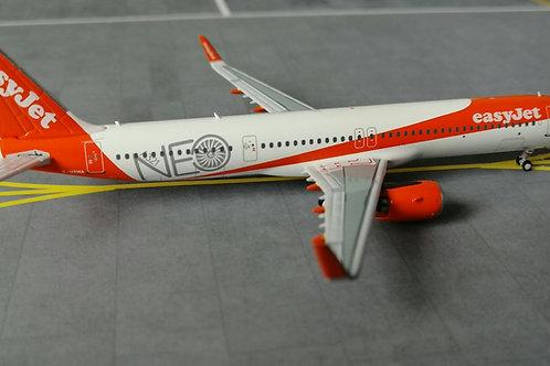 "PANDA MODELS EASYJET AIRBUS A321 G-UZMA ""FIRST A321 NEO""  1/400"