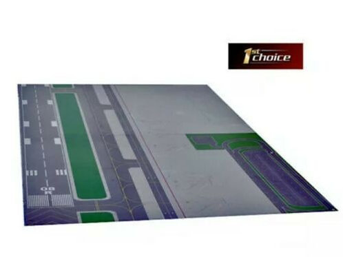 FIRST CHOICE GEMINI JETS AIRPORT LAYOUT-TWO SIDED FOR 1/400 & 1/200 SCALE
