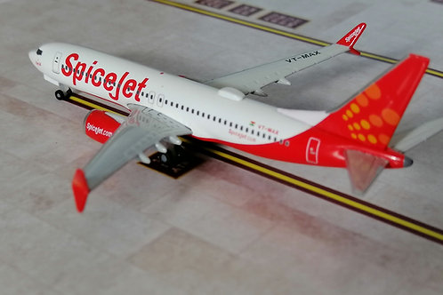 HERPA SPICEJET BOEING 737 MAX8 VT-MAX  1/500