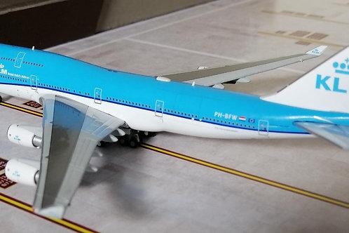 GEMINI JETS KLM BOEING B747-400 PH-BFW  1/400