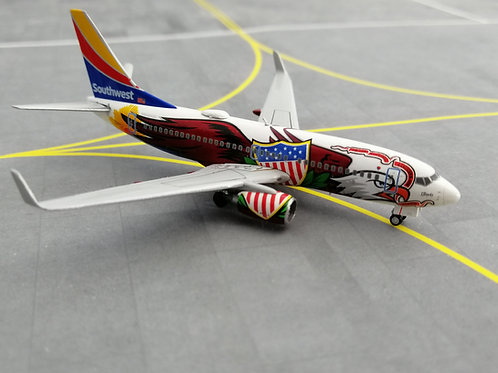 """GEMINI JETS SOUTHWEST AIRLINES B737-700 N918WN """"ILLINOIS ONE"""" 1/400"""