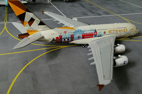 "JC WINGS ETIHAD  A380 A6-APC "" CHOOSE THE UNITED KINGDOM ""  1/400"