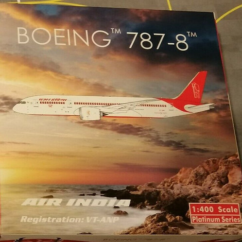 "PHOENIX AIR INDIA BOEING B787-8 VT-ANQ ""GURU NANAK""  1/400"