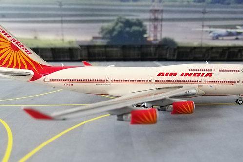 GEMINI JETS AIR INDIA BOEING B747-400  VT-EVA  1/400